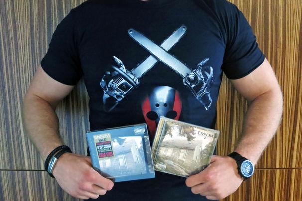 Eminem, Seltene Shirts im Eminem-Fan-Paket gewinnen