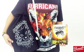 Prodigy, Trostpflaster für The Prodigy Fans: Wir verlosen Hurricane Packages von Bravado