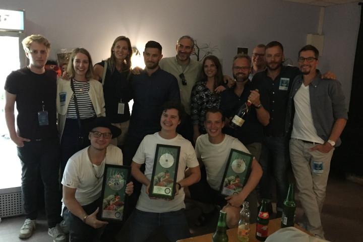 Lukas Graham Platin Verleihung Webgrafik 2016