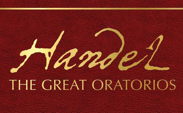 Christopher Hogwood, Hinreißende Arien – Limitierte Edition mit Händels größten Oratorien