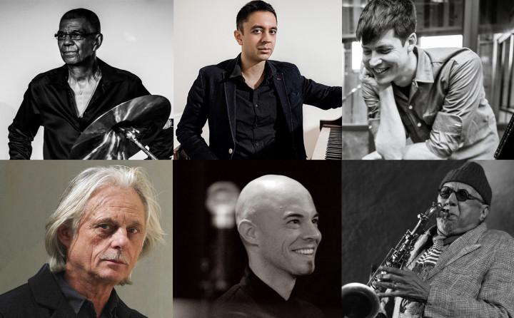Jack DeJohnette, Vijay Iyer, Ches Smith, Manfred Eicher, Nik Bärtsch, Charles Lloyd