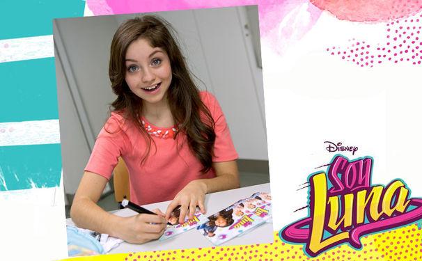 Soy Luna, Gewinnt den Soy Luna-Soundtrack mit Original-Autogramm von Karol Sevilla