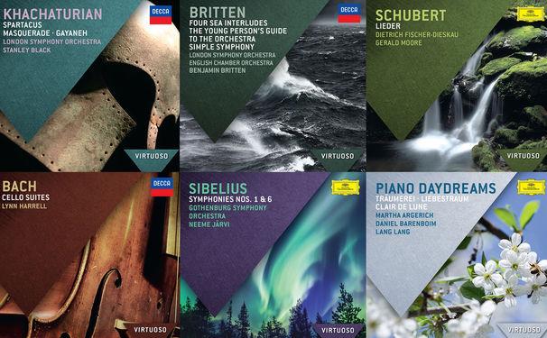 Virtuoso, Virtuose Sammlung - Die Reihe VIRTUOSO präsentiert sechs neue Alben