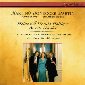 Heinz Holliger, Honegger: Concerto da camera / Martin¿: Oboe Concerto / Martin: Trois danses; Petite complainte; Pièce brève, 00028948307425