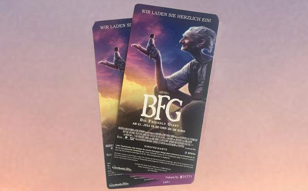 Disney, Gewinnt Tickets für BFG - Big Friendly Giant