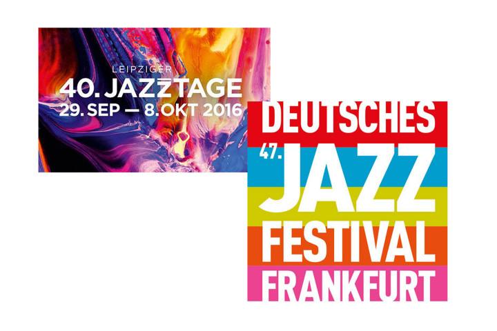 Jazz Festivals in Frankfurt und Leipzig