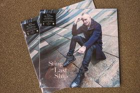Sting, Zum Konzert-Auftakt: The Last Ship-Vinyls von Sting gewinnen