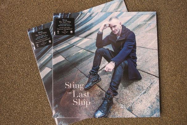 Sting, Gewinnt eine Vinyl des Sting-Albums The Last Ship