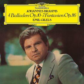 Emil Gilels, Brahms: 4 Ballades, 7 Fantasias, 00028947963288