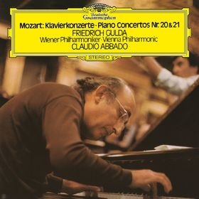 Friedrich Gulda, Mozart: Piano Concertos 20 & 21, 00028947963301