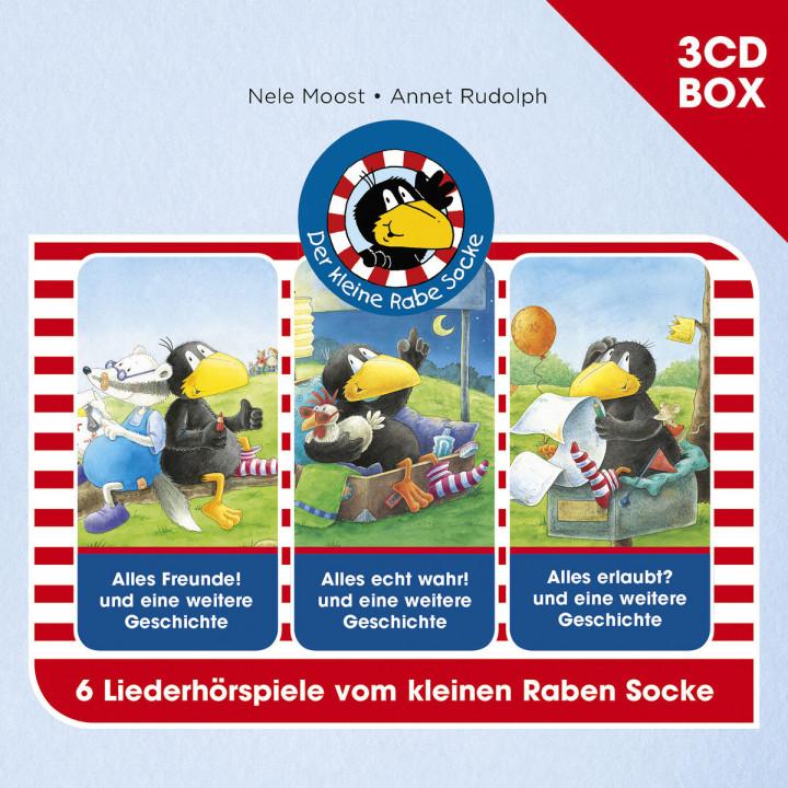 Der kleine Rabe Socke - 3-CD Hörspielbox Vol. 1