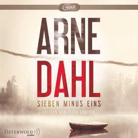 Arne Dahl, Arne Dahl: Sieben minus eins (Berger & Blom,Bd. 1), 09783869523262