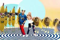 """Tom Lehel, Loona und Tom Lehel im fruchtigen Musikvideo """"Banana Coconut"""""""