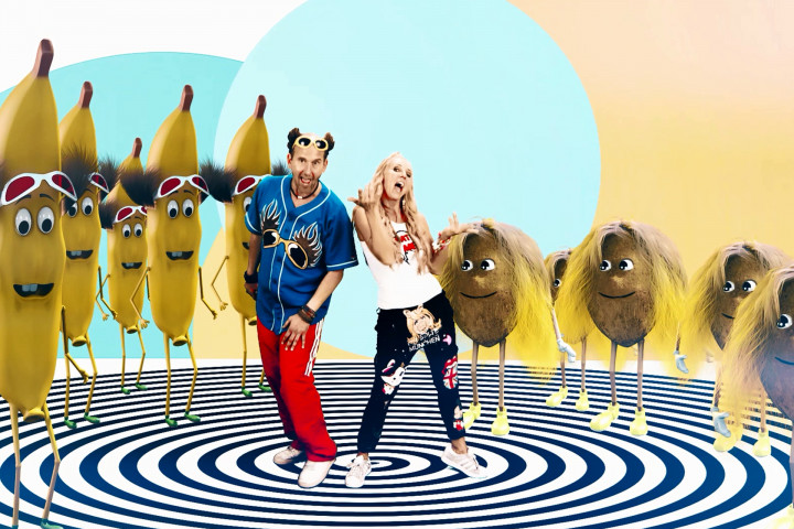 Musikvideo Banana Coconut Tom Lehel Loona