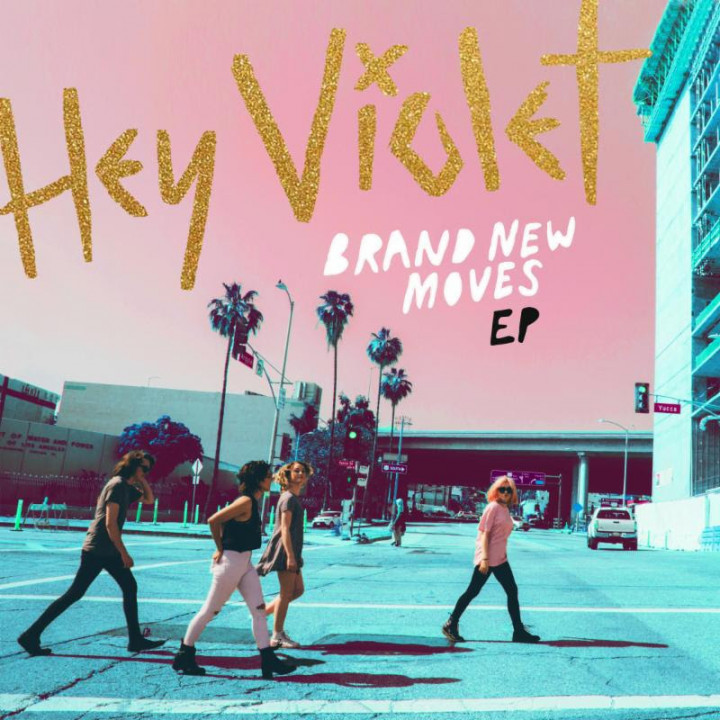Hey Violet Brand new moves ep cover