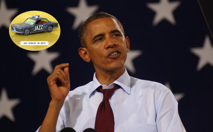 Barack Obama bei Spotify