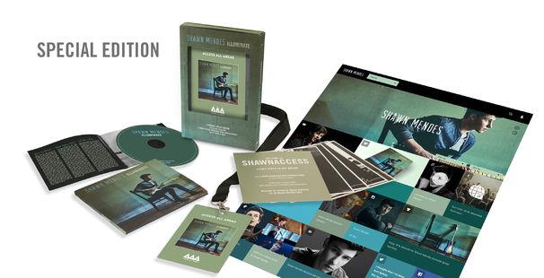 Shawn Mendes, Shawn Mendes Illuminate Special Edition-Inhalt
