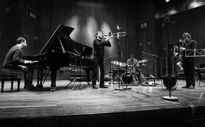 Louis Sclavis, Giovanni Guidi, Gianluca Petrella, Louis Sclavis & Gerald Cleaver - vier Improvisationsmeister auf gleicher Wellenlänge