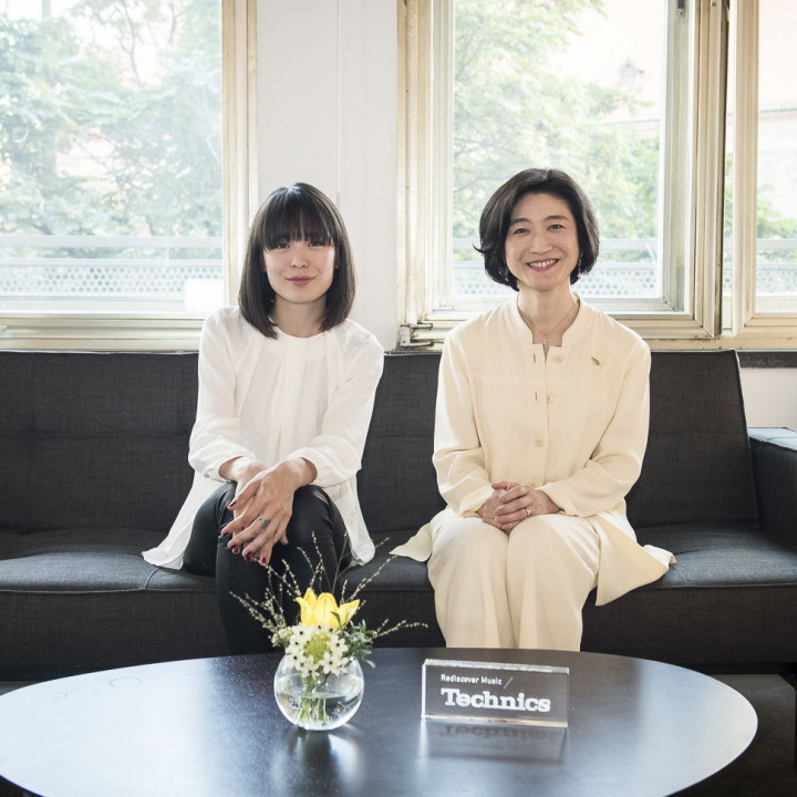 Alice Sara Ott & Michiko Ogawa (Director of Technics Project Panasonic Corporation)