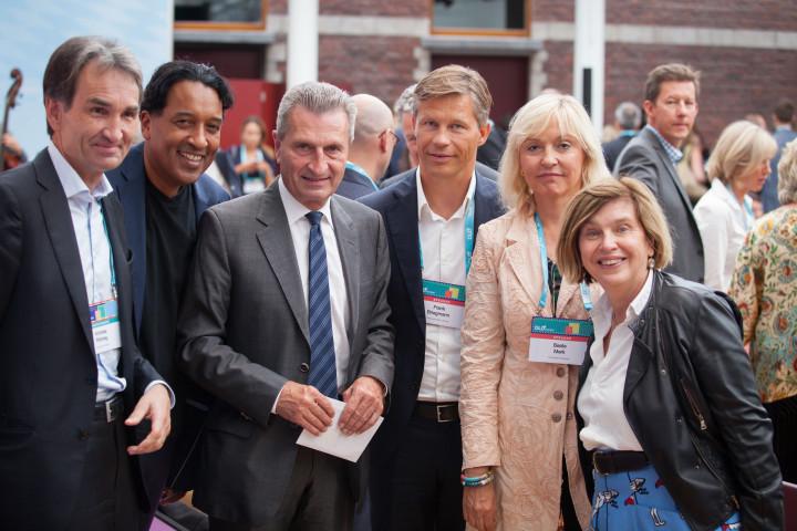 Frank Briegmann diskutiert Erwartungen der Musikwirtschaft an die Europäische Politik auf DLD Europe Konferenz in Brüssel