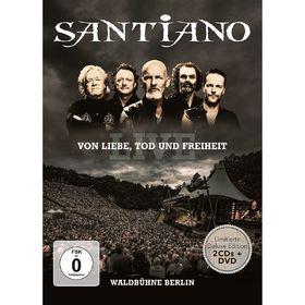 Santiano, Von Liebe, Tod und Freiheit - Live / Waldbühne Berlin, 00602557012057