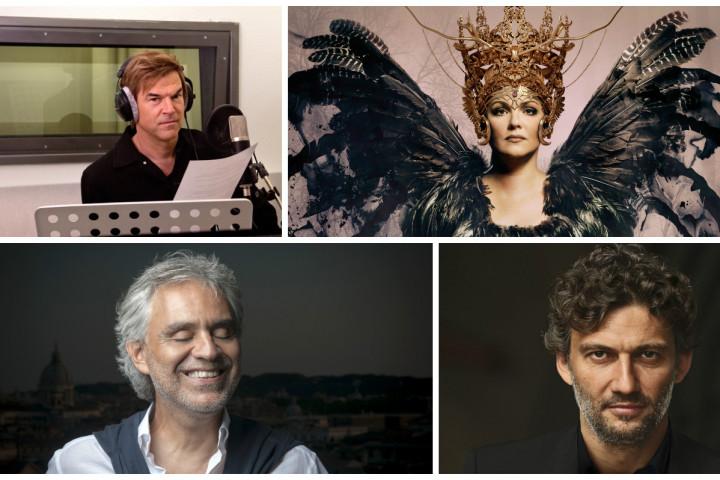 Campino, Anna Netrebko, Andrea Bocelli, Jonas Kaufmann