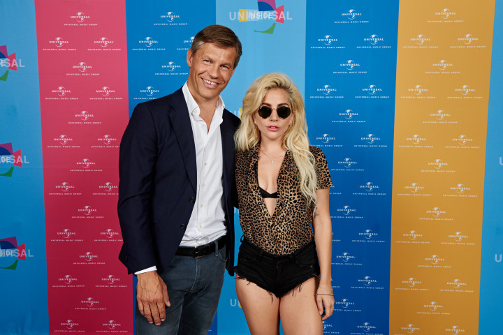 Lady Gaga live bei UNIVERSAL INSIDE 2016