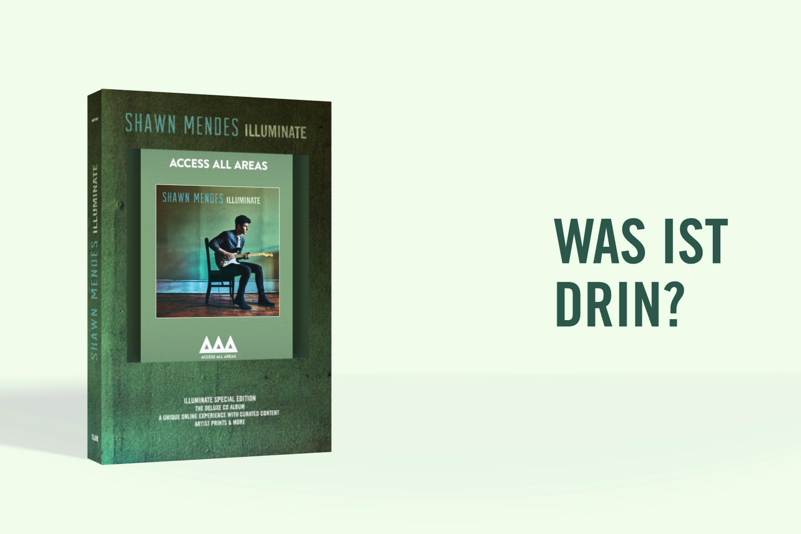 Shawn Mendes, Illuminate Special Edition Box