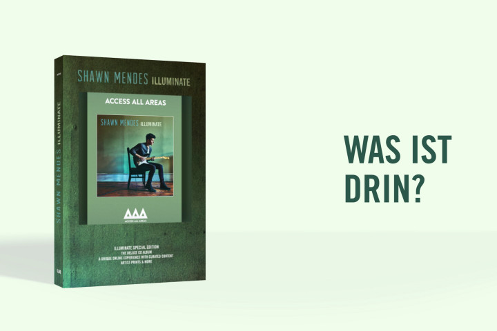 Shawn Mendes Video Illuminate Special Edition Box