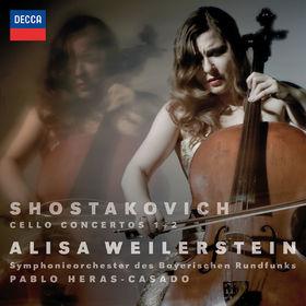 Alisa Weilerstein, Shostakovich: Cello Concertos Nos. 1 & 2, 00028948308361