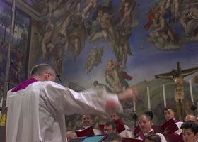 Chor der Sixtinischen Kapelle, Palestrina - Ad Te Levavi Oculos Meos