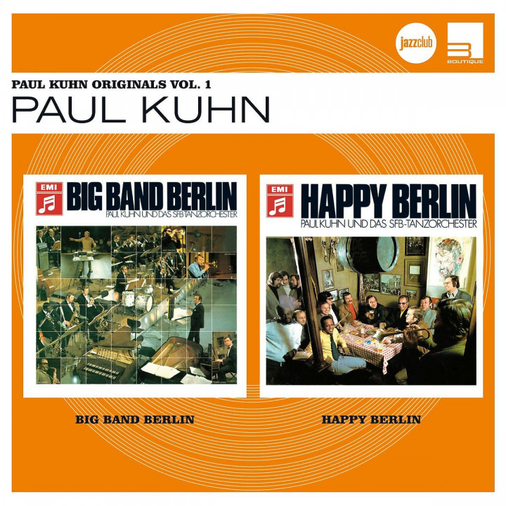 Paul Kuhn Originals Vol. 1 (Jazz Club)