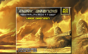 Folgenreich, Mark Brandis - Raumkadett: Folge 04-06 als Hörspielbox Über Grenzen