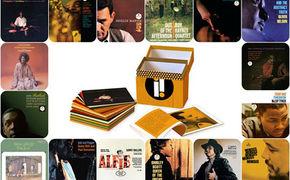 Various Artists, Oranger Jazzwürfel - 25 Impulse-Klassiker in einer Box