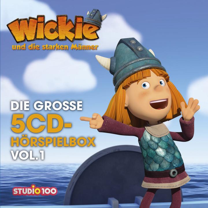 Die große 5-CD Hörspielbox, Vol. 1 (CGI)