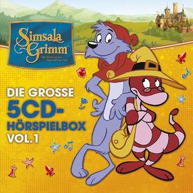 SimsalaGrimm, Die große 5-CD Hörspielbox Vol. 1, 00602557070712