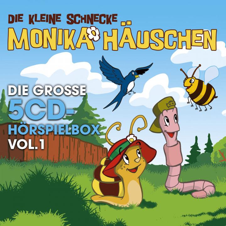 Die große 5-CD Hörspielbox, Vol. 1