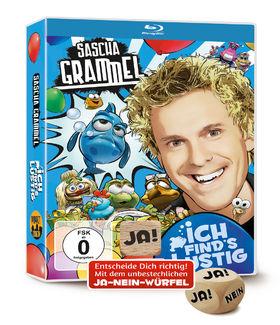 Sascha Grammel, Ich find's lustig (BluRay mit Ja-Nein-Würfel), 00602557058994