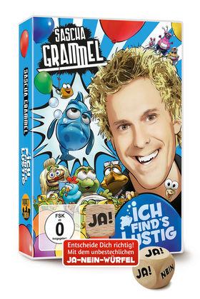 Sascha Grammel, Ich find's lustig (Doppel-DVD mit Ja-Nein-Würfel), 00602557058987
