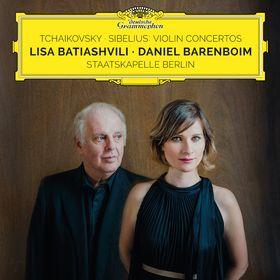 Lisa Batiashvili, Tchaikovsky - Sibelius: Violin Concertos, 00028947960386