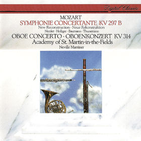 Heinz Holliger, Mozart: Sinfonia Concertante; Oboe Concerto, 00028948312443