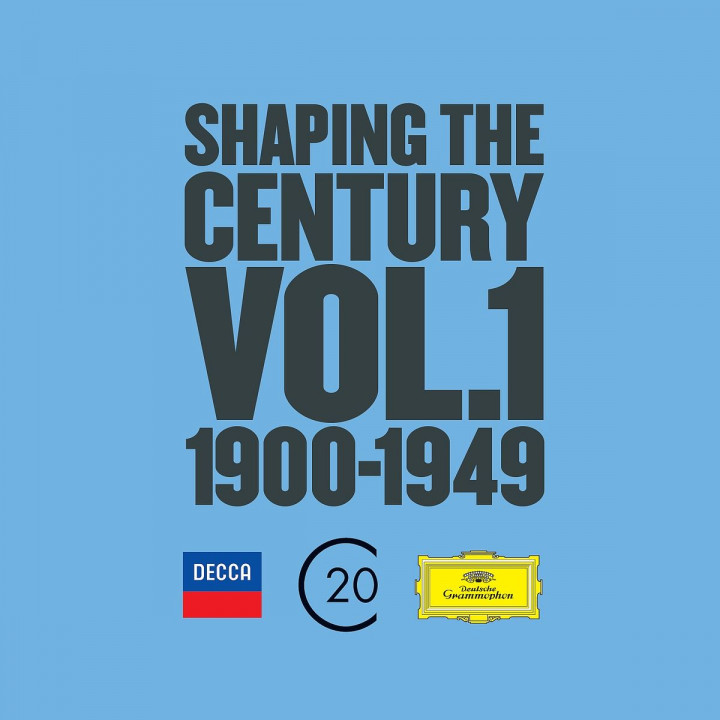 Shaping the Century Vol.1 1900-1949 (Ltd. Edt.)