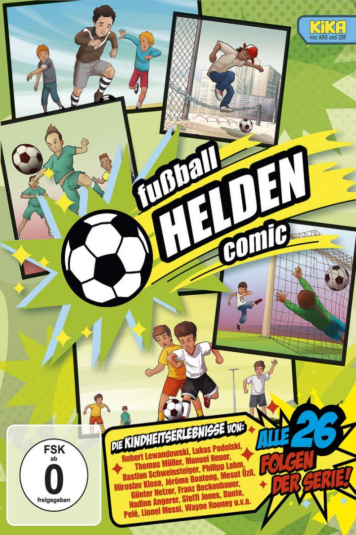 fußball HELDEN Comic - die komplette KiKA-Serie