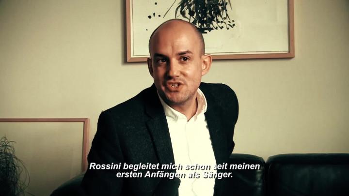 Franco Fagioli spricht über seine Beziehung zu Gioachino Rossini