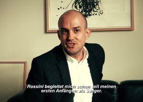 Franco Fagioli, Franco Fagioli spricht über seine Beziehung zu Gioachino Rossini