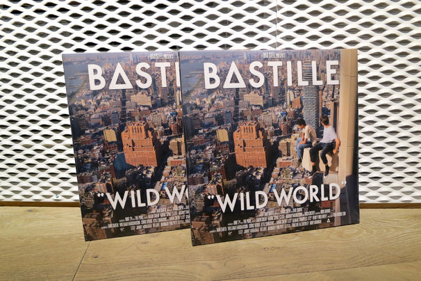 Bastille, Bastille-Liebhaber aufgepasst: Wir verlosen zwei Vinyl-Versionen des neuen Albums Wild World