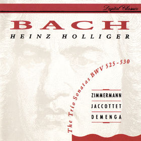 Heinz Holliger, Bach, J.S.: 6 Trio Sonatas BWV 525-530, 00028948312467