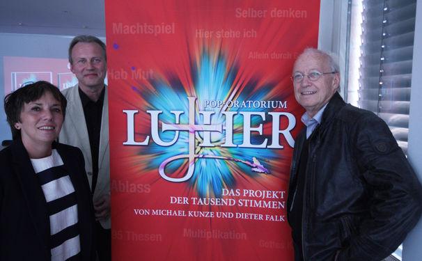 Pop-Oratorium Luther, Das Projekt der tausend Stimmen – Pressekonferenz zum Pop-Oratorium Luther in Berlin