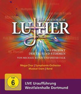 Dieter Falk, Pop-Oratorium Luther - Das Projekt der tausend Stimmen, 00044007352908