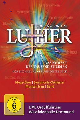 Dieter Falk, Pop-Oratorium Luther - Das Projekt der tausend Stimmen, 00044007352755